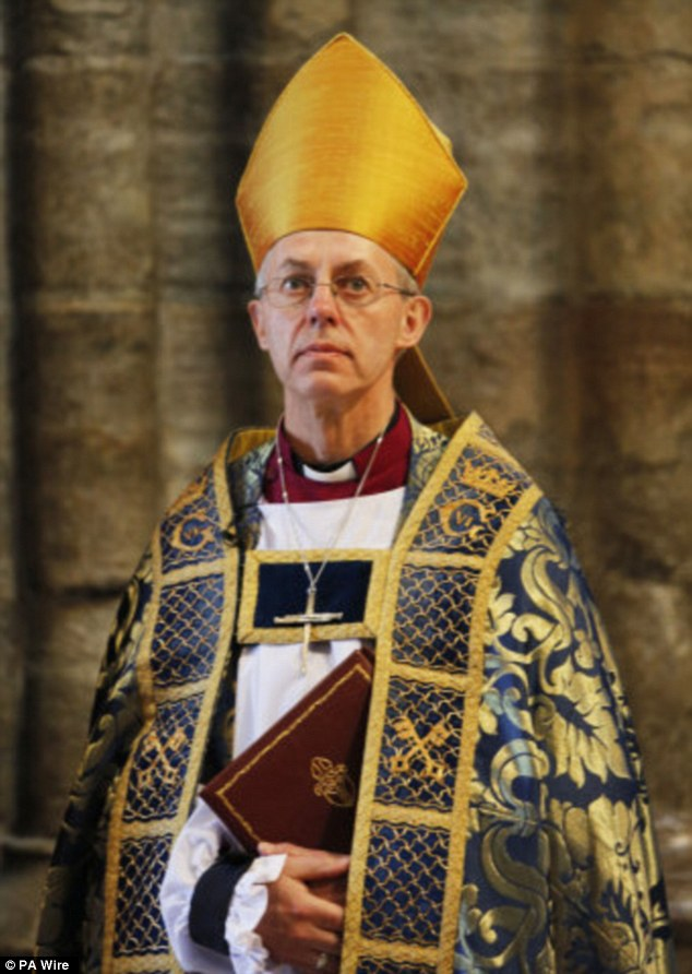 Arch Bishop of Canterbury