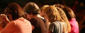 Women praying