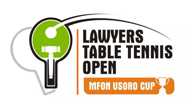 Breaking News: Registration opens for the 10th Lawyers Table Tennis open(Mfon Usoro Cup)