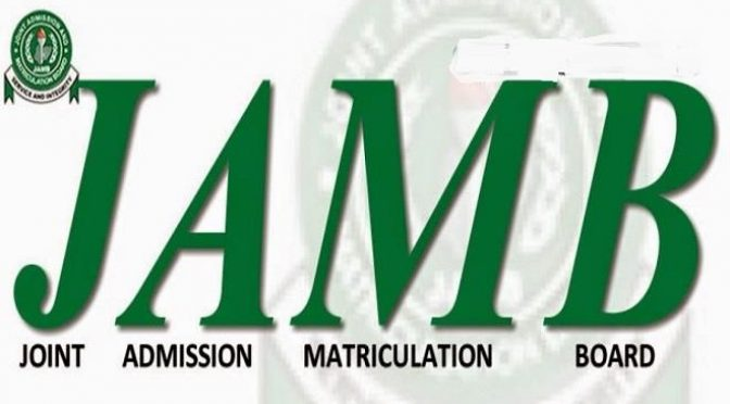 JAMB to refund UTME candidates for unsuccessful registrations