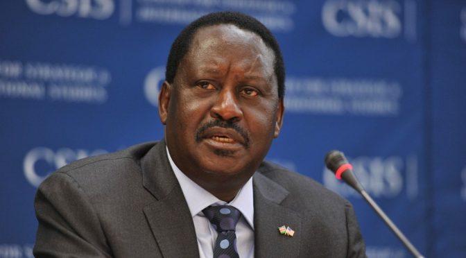 Kenyan opposition leader Odinga takes 'oath of office'