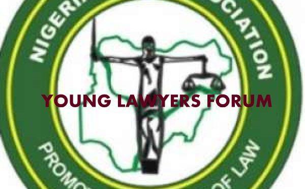 EVANS UFELI speaks to young Lawyers in Lagos