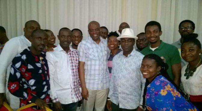 Photos: A resounding welcome for Paul Usoro by Akwa Ibom Lawyers in Uyo