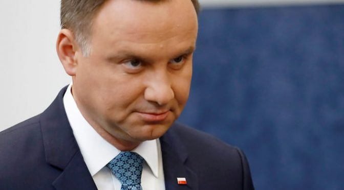 Polish president signs controversial Holocaust bill into law