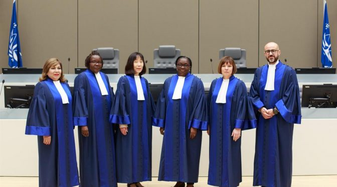 Two African Judges,4 others sworn in at the International Criminal Court