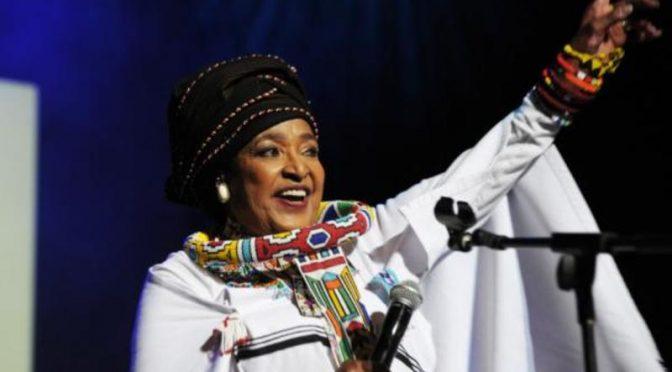 Nomzamo Winifred Zanyiwe Madikizela Mandela Passes on- Amandla!
