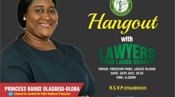 Lagos Lawyers embrace Banke Olagbegi-Oloba as she speaks on high cost of NBA Conferences