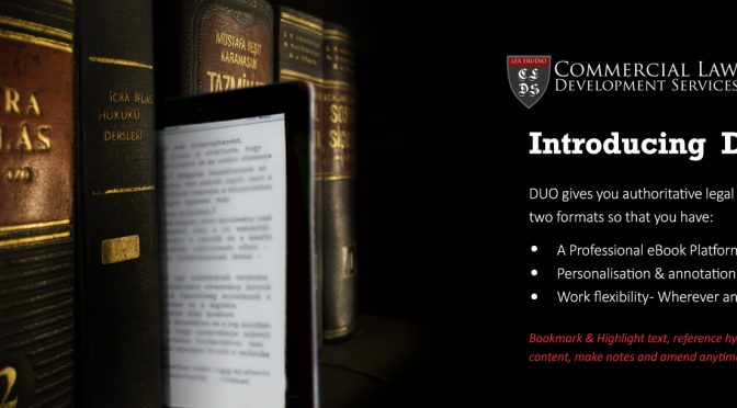 15% off commercial law books as NBA Annual conference approaches