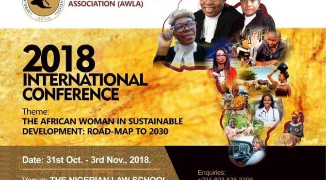 AWLA Conference: Betty Iddrisu(Ghana), Funke Adekoya(Nigeria),Pearl Kupe(Botswana),Carol Daudi(Kenya) to speak