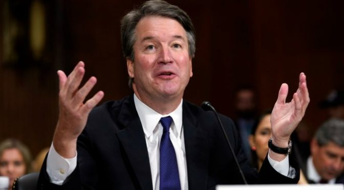 Breaking News: Brett Kavanaugh confirmed as Supreme Court Judge