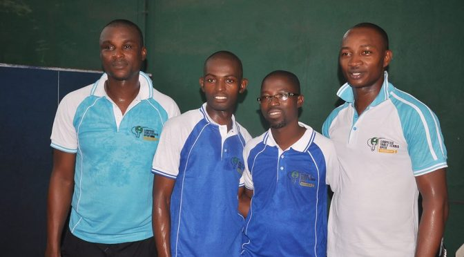 Just in- Ibadan Lawyers arrive Lagos for Lawyers table Tennis Open(Mfon Usoro Cup)