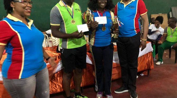 Yahaya Olarewaju,Titilayo Osagie win 2018 Lawyers table Tennis Open(Mfon Usoro cup)