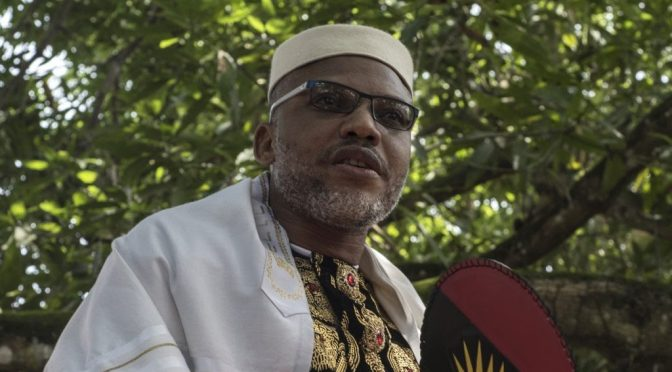 IPOB threatens to lockdown South East over MNK's incarceration