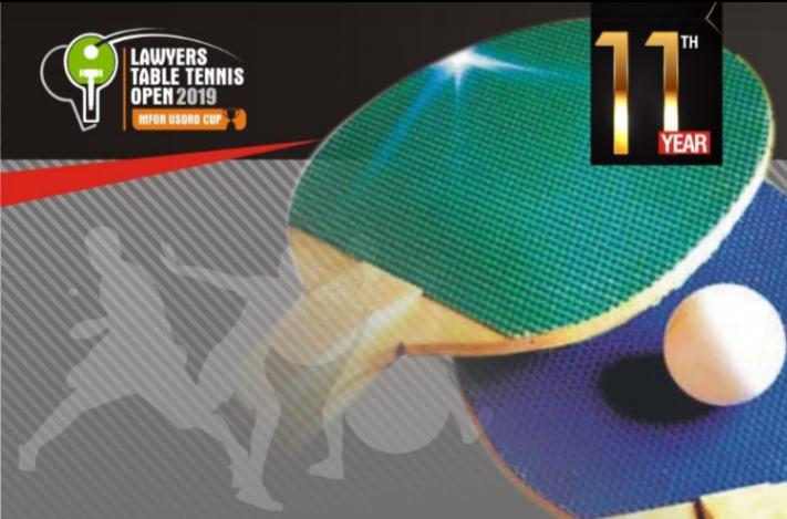 Lawyers Table Tennis Open(Mfon Usoro cup) 2019
