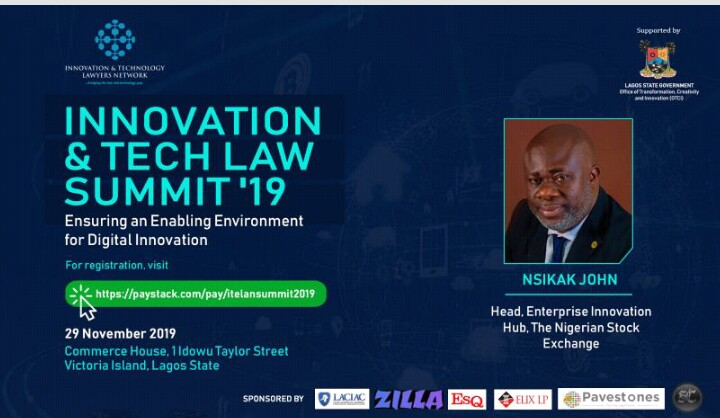 Innovation and Tech Law Summit 2019