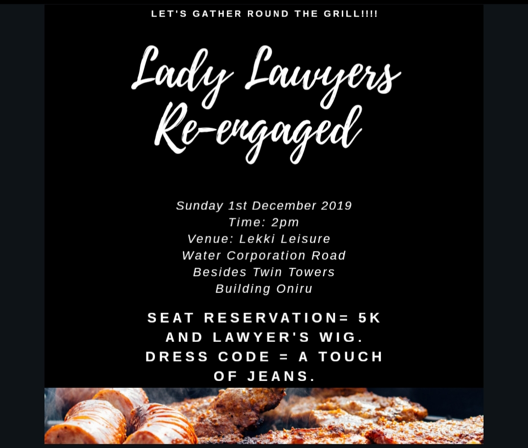Lady Lawyers Re-engaged