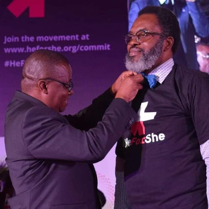 AG of Lagos, Moyosore Onigbanjo decorated by Lagos State Governor at  HeForshe Campaign