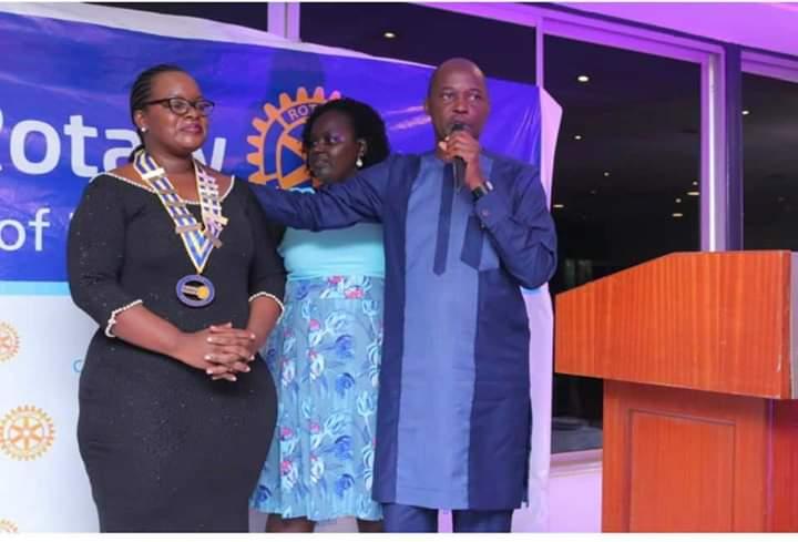 Ugandan IP Lawyer, Mercy Kainobwisho   installed as the 18th President of Rotary Club Bukoto
