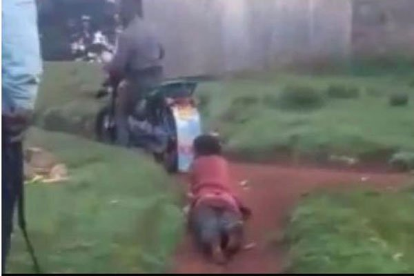 Police officers arrested for whipping and dragging woman behind motorcycle