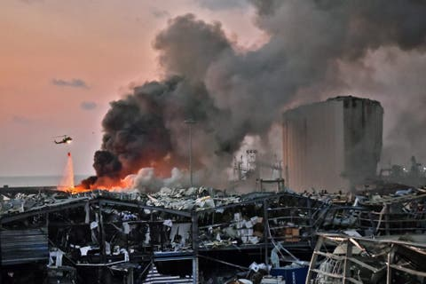 Judge orders detention of top officials after port blast in Lebanon