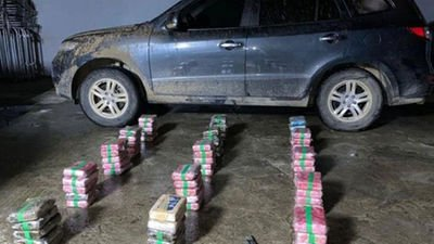 Panama governor caught with 79 drug parcels