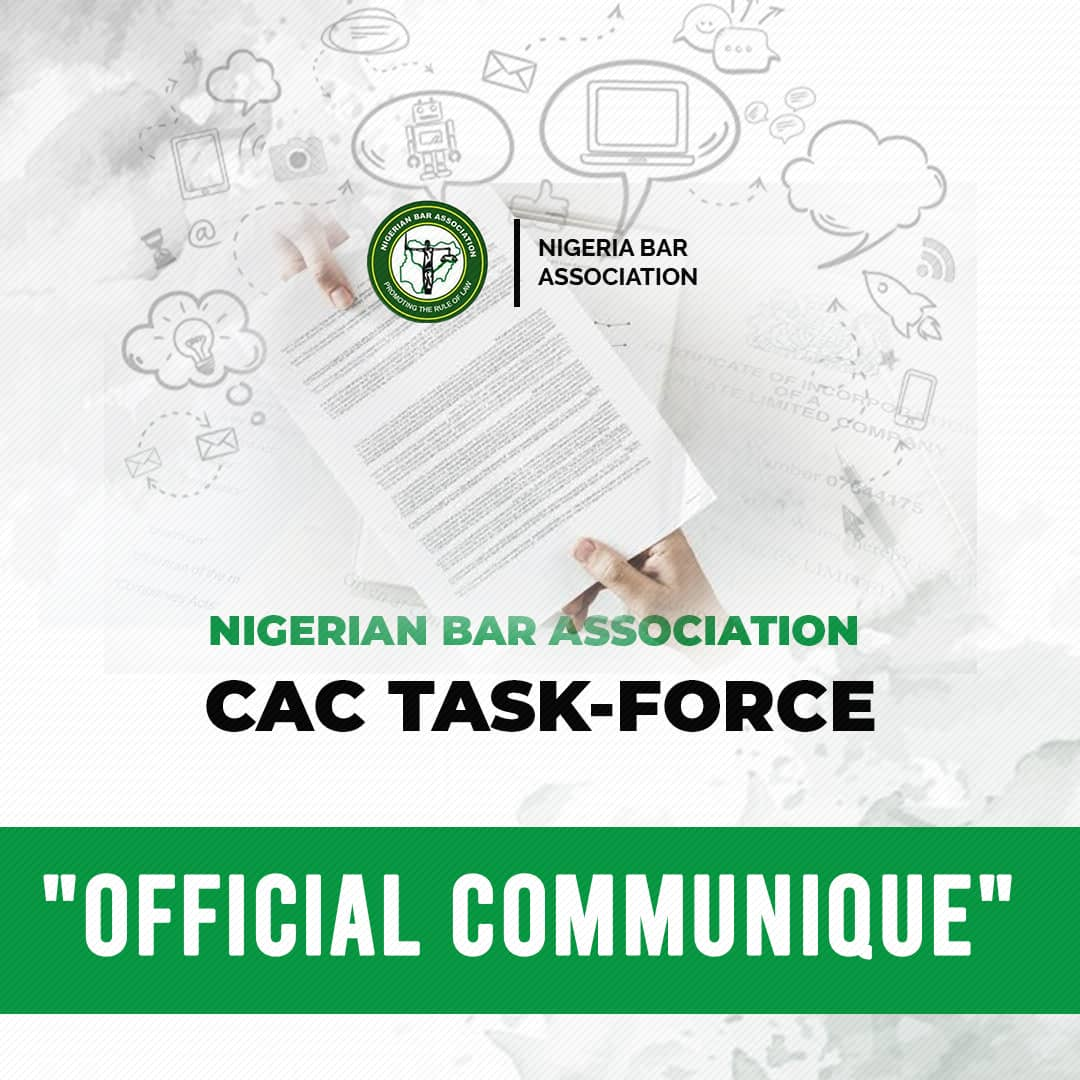 Communique – NBA CAC Task Force On Ease Of Doing Business {see full recommendations}