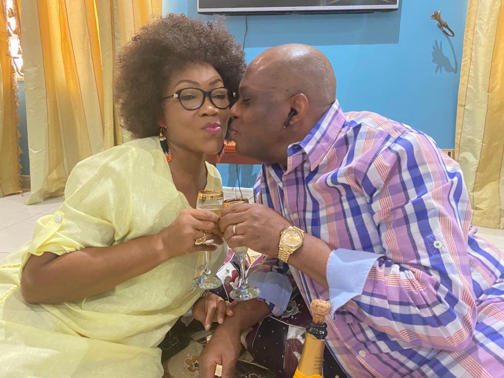 (Pix)Courtroom Mail felicitates with Paul & Mfon Usoro on 36th wedding anniversary