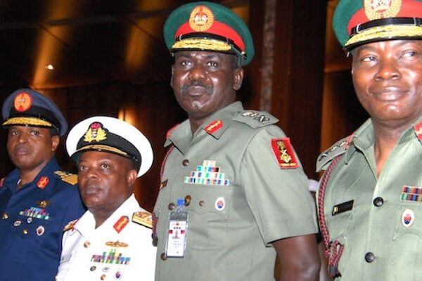 Buratai, other Service Chiefs replaced