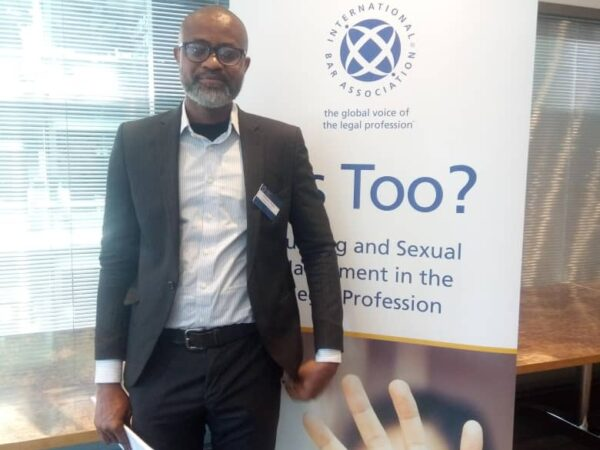 Anthony Atata applauds Akpata's committees,urges committee on sexual harrassment and bullying in the legal profession.