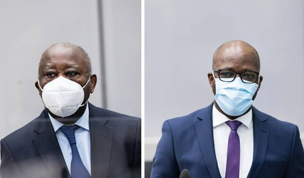 Breaking- ICC Appeals Chamber  acquits Laurent Gbagbo and Charles Blé Goudé of all charges of crime against humanity