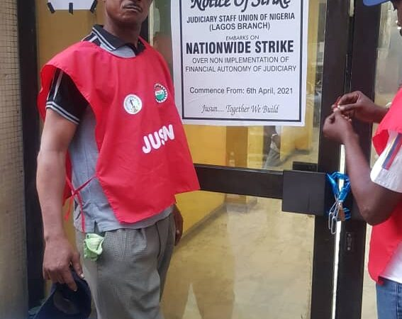 Lagos JUSUN joins Strike, seals courts