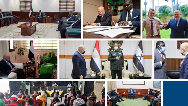 The Prosecutor of the ICC, Karim A. A. Khan QC, concludes his first visit to Sudan with the signing of a new MoU ensuring greater cooperation