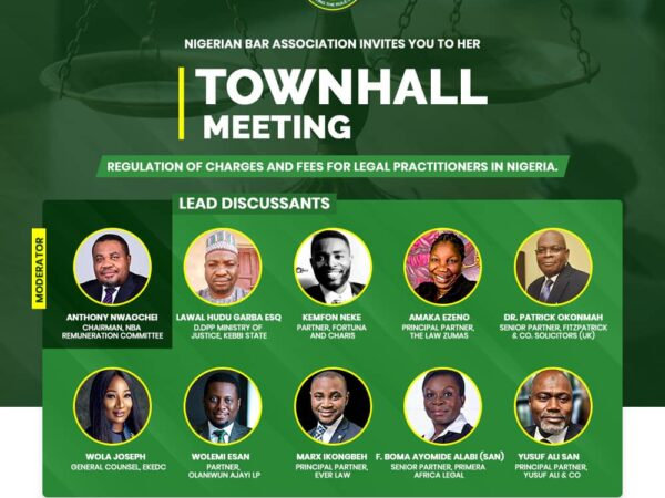 NBA Remuneration Committee: Call for Memoranda and Invitation to Participate in Townhall Meetings