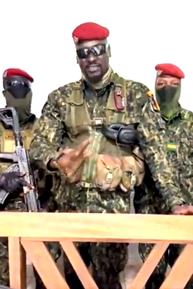 FG condemns coup in Guinea