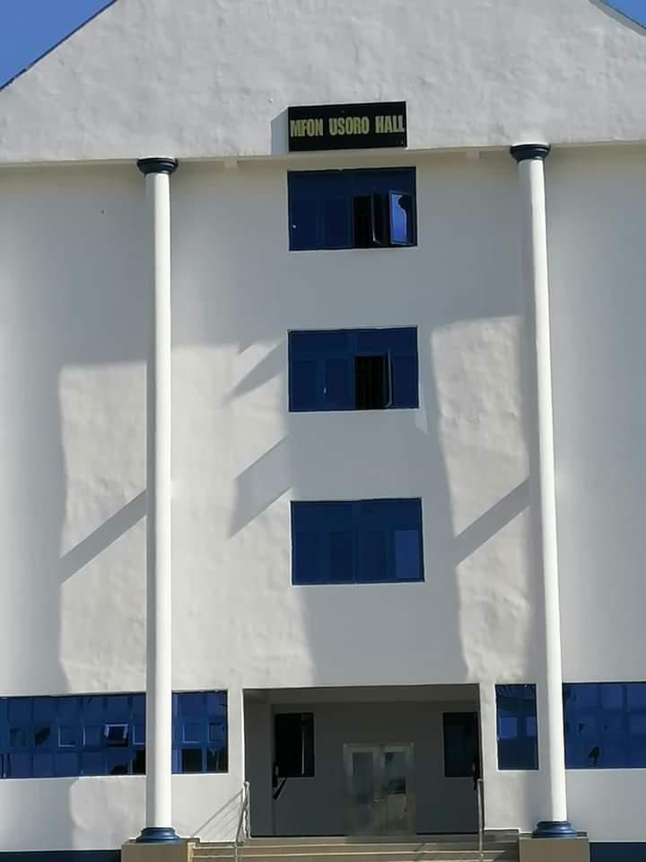 Gbemisola Saraki  commissions Mfon Usoro Hall at Maritime Academy of Nigeria, Oron.